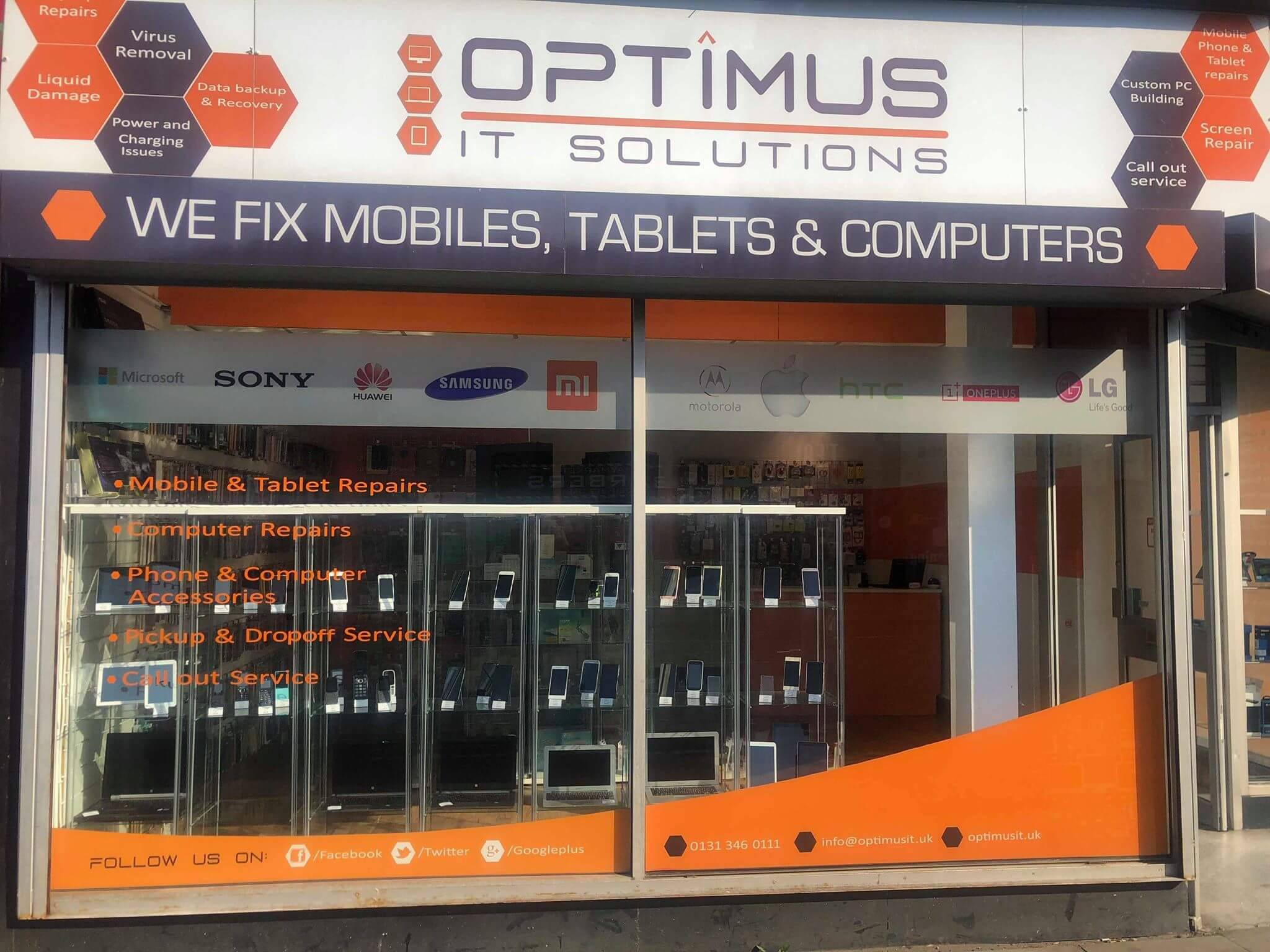 Headquarters of Optimus IT Solutions